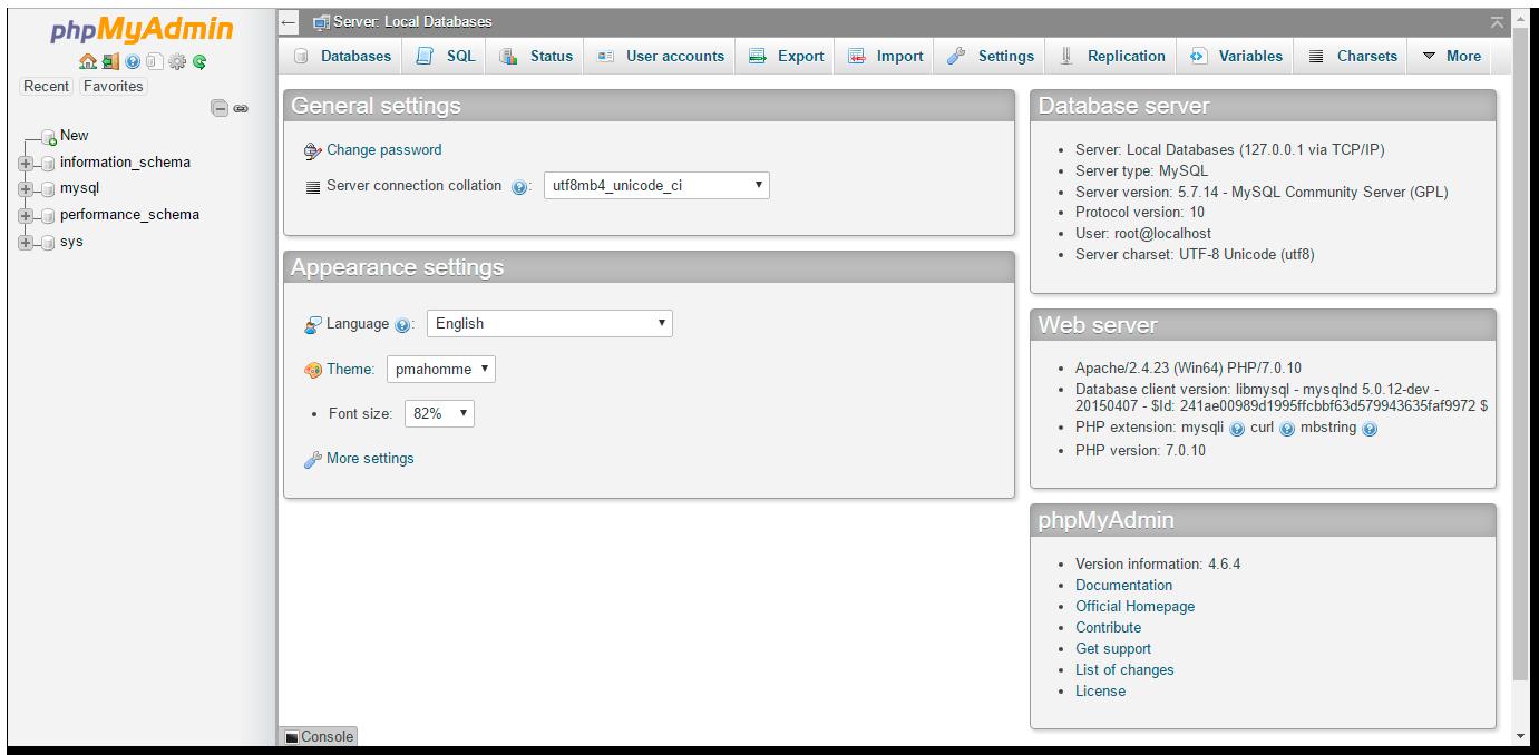 Instalación wordpress localhost phpmyadmin