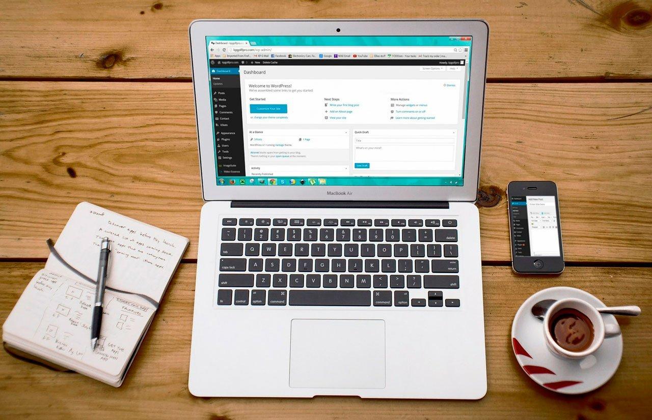 Como crear una pagina web wordpress